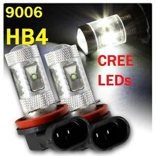 9006 HB4 6000K CREE LED Fog Light Bulbs Fit MSport BMW E90 E60 E92 E93 E61