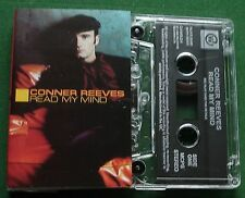 Conner Reeves Read My Mind Cassette Tape Single - TESTED