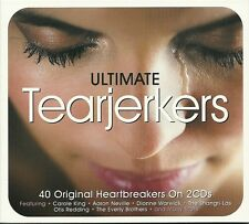 ULTIMATE TEARJERKERS - 2 CD BOX SET - CAROLE KING, OTIS READING & MORE