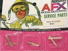 ORIGINAL AURORA AFX MODEL MOTORING SERVICE PARTS PICK-OP SHOES 8521