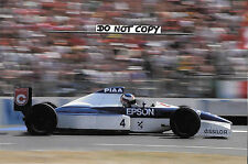 9x6 Photograph, Jean Alesi  F1 Tyrrell-Cosworth 018 , French GP Paul Ricard 1989