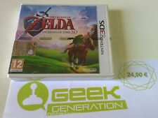 THE LEGEND OF ZELDA OCARINA OF TIME 3D nuovo sigillato PAL BOX ITA Nintendo 3DS