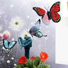 Solar Powered Flying Color Butterfly 3 PCS/Set Butterflies Garden Yard Decor Hot
