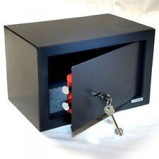 Tresor Safe Möbeltresor  - Doppelbart Schlüssel  - anthrazit - 21l