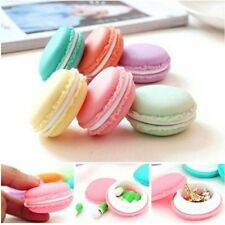 Candy Color Mini Macarons Storage Box For Jewelry Earring Necklace