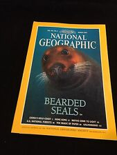 NATIONAL GEOGRAPHIC MAGAZINE MARCH 1997 SEALS,HONG KONG,MOTHS,NATL FOREST,PAPER