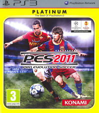 Pro Evolution Soccer PES 2011 Platinum PS3 Playstation 3 IT IMPORT KONAMI