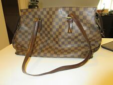 Louis Vuitton/Damier ebene Chelsea Tote/Classic Style/Large Handbag/Bag