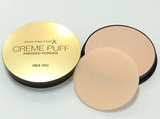 MAX FACTOR CREME PUFF PRESSED POWDER COMPACT #85 LIGHT N GAY