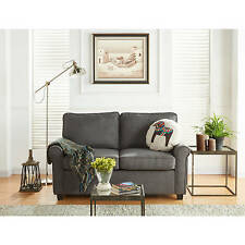 Gray Sectional Sleeper Sofa Bed Convertible Loveseat Couch Modern Living Room