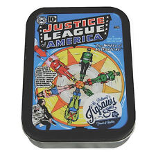 JUSTICE LEAGUE WHEEL OF FORTUNE 150 PIECE JIGSAW PUZZLE IN A TIN FLASH ARROW DC