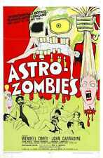 Astro Zombies Poster 02 A4 10x8 Photo Print