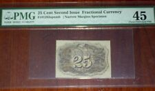 FR.1283 SP NMB (2nd Issue) 25 cent BACK SPECIMEN (PMG - Ch.XF 45)