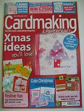 Magazine. Card Making & Papercraft. Issue 47. December 2007. Merry & Bright.