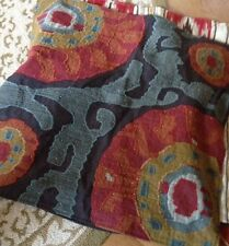 """Pottery Barn Houston Pillow Cover 24"""" Cropped Suzani Embroidered New"""