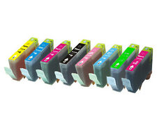 8 NEW Multi-Pack Ink Set for Canon BCI-6 i9900 iP8500 Red Green FAST SHIPPING