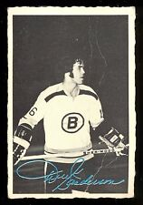 1970 71 OPC O PEE CHEE #5 DEREK SANDERSON DECKLE EDGE VG BOSTON BRUINS HOCKEY