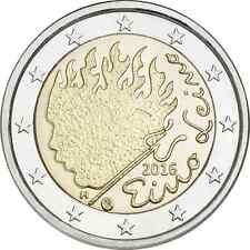 """FINNLAND - 2 EUROS Gedenkmünzen 2016  """" Eino Leino """"  UNC"""