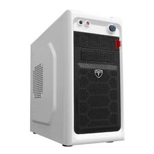 AvP Viper Mini Tower Gaming PC Case White 2 x 12cm Fans USB 3.0