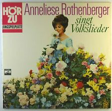 """12"""" LP - Anneliese Rothenberger - singt Volkslieder - L5105h - washed & cleaned"""