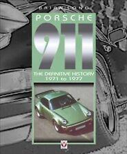 RARE PORSCHE 911 1971 TO 1977 CAR BOOK ( LONG)  jm
