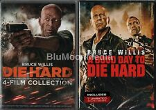 Die Hard 1 2 3 4 5 DVD Lot Complete Collection 1-5 Good Day To  5 Disc Set NEW