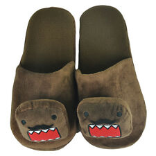 Domo Kun Japanese Animation Mustache Head Cartoon Plush Slippers Medium 8-9