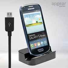 Desktop Dock Caricabatterie Docking Station Stand per Samsung Galaxy S3 / S4 / mini nota / 2