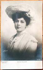 1903 Rotograph Realphoto Postcard: Viola Allen, Stage Actress in Hat