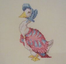 beatrix potter cross stitch chart Jemima Puddle Duck CHART INSTRUCTIONS ONLY mkn