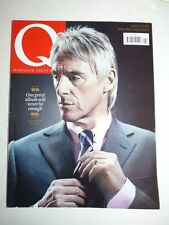 Q MAGAZINE #310 may 2012 Paul Weller Subscribers-Only Edition