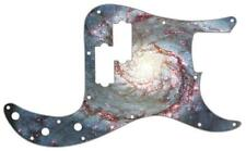 P Bass Precision Pickguard Custom Fender 13 Hole Guitar Pick Guard Spiral Galaxy