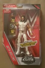 WWE SETH ROLLINS ELITE 45 FIGURE WHITE OUTFIT Ships Free 24 hrs!