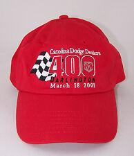 Carolina Dodge Dealers 400 - Darlington SC - March 18, 2001 - HAT - Red - NWOT