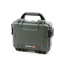 Nanuk 904 Olive Waterproof Protective Case With 3 Part Foam Insert