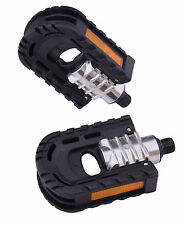 PAIR UNION DOUBLE FOLDING ALLOY BIKE PEDALS FOLDERS COMMUTERS PEDALS 9/16""