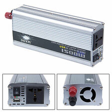 HOT 1500W Watt Modified Sine Wave Power Inverter DC 12V To AC 220-240V Converter