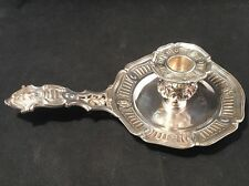 Rare French 19th Century Tiffany Sterling Silver Chamberstick / Candlestick