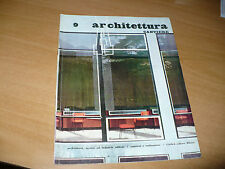 A ARCHITETTURA CANTIERE N.9 1956 SCUOLE SAN PAOLO DEL BRASILE GEMEENTEMUSEUM AIA
