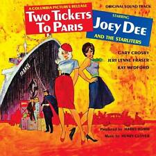 JOEY DEE & THE STARLITERS - TWO TICKETS TO PARIS (NEW SEALED CD) SOUND TRACK