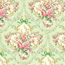 Cottage Shabby Chic Cotton Fabric Mary Rose Sweet Charms MR2150-14D BTY