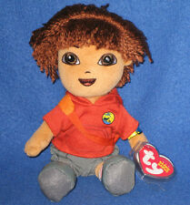 TY DIEGO BEANIE BABY (GO DIEGO GO - DIEGO ANIMAL RESCUE) - MINT with MINT TAGS