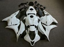 ABS Fairing Kit Bodywork for HONDA CBR600RR 2009-2012 2010 2011 Unpainted white