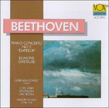 Beethoven: Piano Concerto No. 5 Tomsic Audio CD