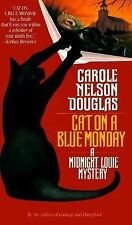 Cat on a Blue Monday: A Midnight Louie Mystery (Midnight Louie Mysteri-ExLibrary