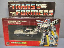 "Transformers G1 ""PROWL"" Pre-Rub 100% Complete w/ Box Original 1984 Vintage"