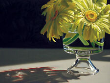 DANFORTH Gerbera Daisies By The Window 9x12 archival giclee paper print