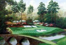 "Charles Beck ""Augusta 12th Hole"" Golf Print 16"" x 12"
