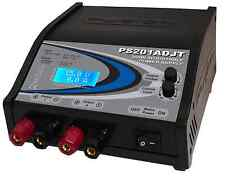 Logic RC 12v Twin Power Supply PS201ADJT 15amp Adjustable  5-15V DC RC Charge