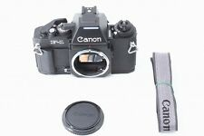 C013-677**Mint++**Canon New F-1 35mm SLR Camera Black Body from Japan